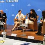 Kai-Uwe Steffens, Dr. Franziska Meyer-Hesselbarth, Dr. Silke Lüder, Daniela Schmidt (Moderatorin)