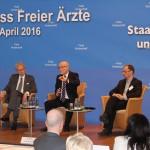 Dr. Andreas Gassen, Prof. Udo Di Fabio, Wieland Dietrich (v. l.)