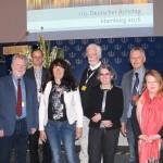 Vorstände der Freien Ärzteschaft (v. l.): Dr. Axel Brunngraber, Wieland Dietrich, Dr. Silke Lüder, Wolfgang Bartels, Dr. Susanne Blessing, Dr. Heinz-Jürgen Hübner, Christa Bartels