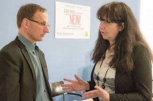 FÄ-Vorstände Wieland Dietrich und Dr. Silke Lüder (Foto: Manfred Wigger)