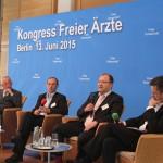 Wolfram-Arnim Candidus, Wieland Dietrich, Dr. Thomas Drabinski, Jan Scholz (Moderator)