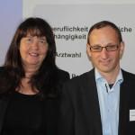 FÄ-Vorstände Dr. Silke Lüder und Wieland Dietrich