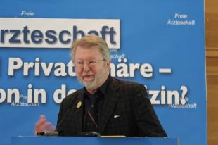 FÄ-Vizevorsitzender Dr. Axel Brunngraber  (Foto: Freie Ärzteschaft)